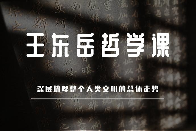王东岳哲学课-思想背后的思想(深层梳理东西方文化乃至整个人类文明的总体走势)