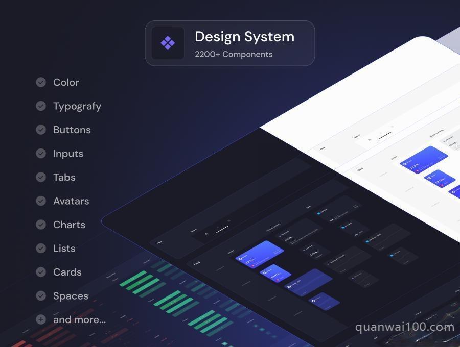 金融电子钱包iOS APP UI Kit设计Figma模板——Unipay插图(1)