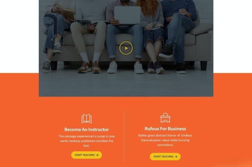 在线学习平台WordPress主题Elementor模板插图(2)