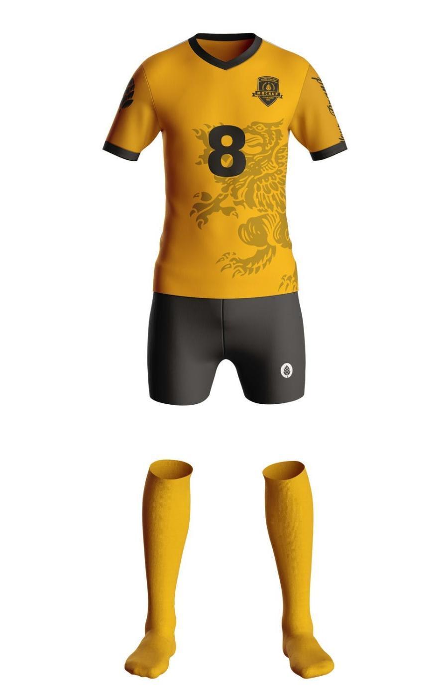 足球服运动服PS样机素材插图(2)