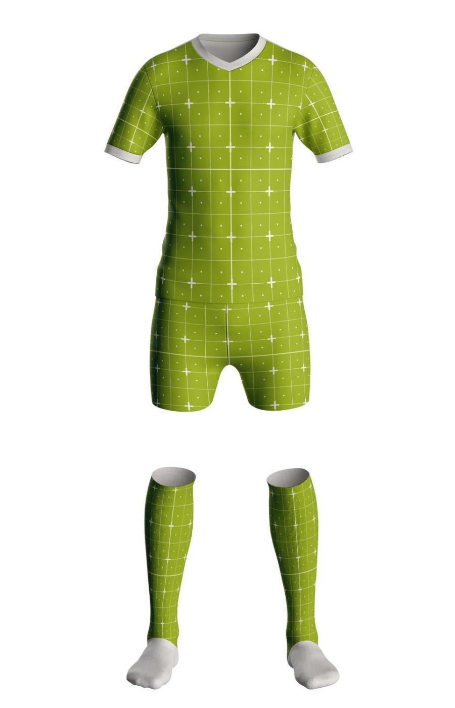 足球服运动服PS样机素材插图(1)