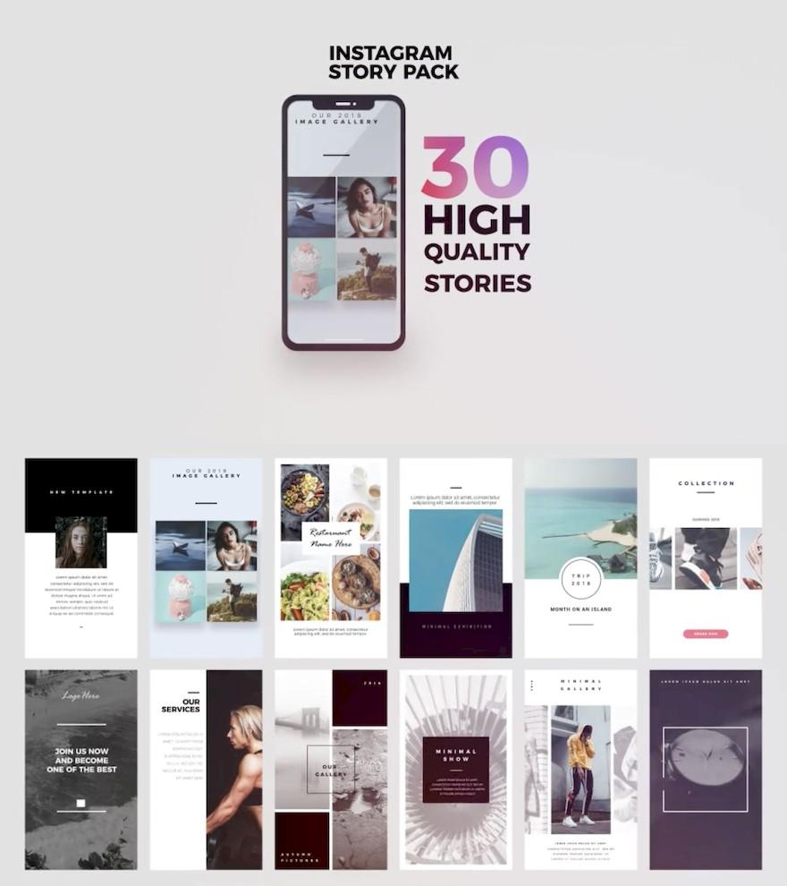 30个APP电商广告ae视频特效模板插图