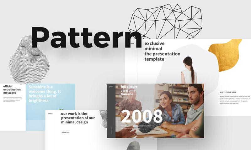 简洁独特多用途的公司项目提案Keynote和ppt模板
