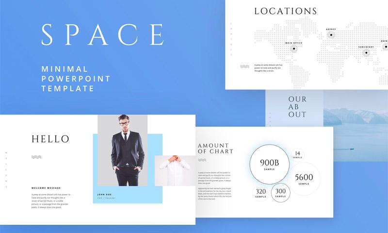 多用途现代极简设计的公司设计项目方案汇报Keynote和ppt模板