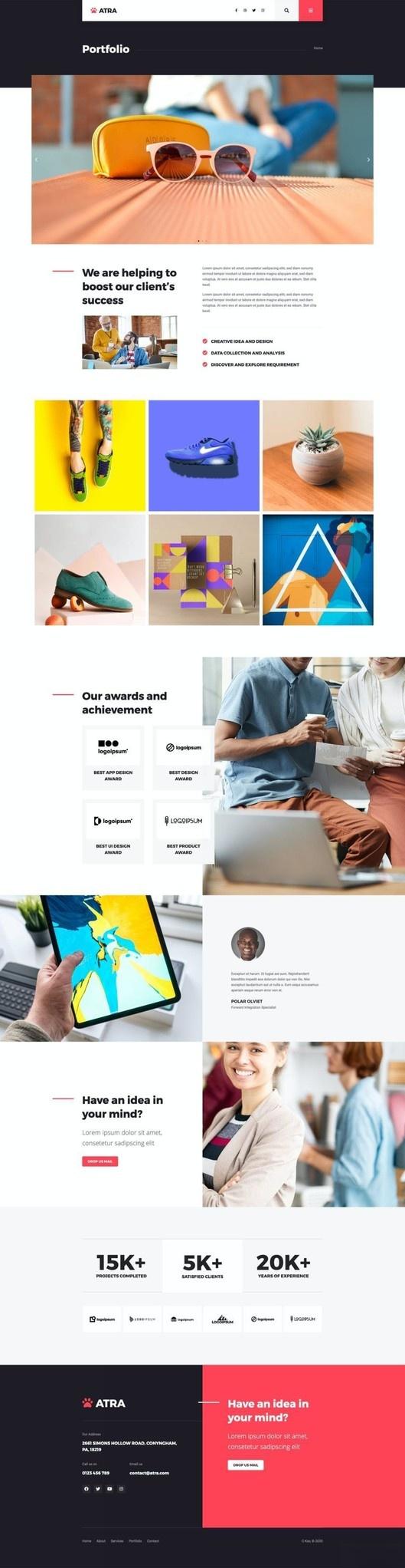 代理商企业网站WordPress主题Elementor模板插图(11)