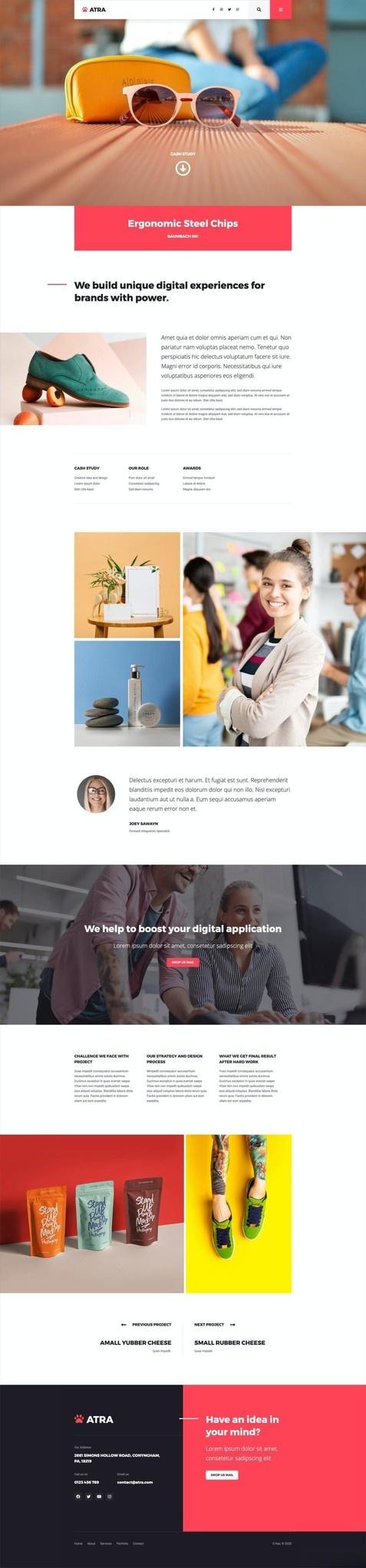 代理商企业网站WordPress主题Elementor模板插图(12)