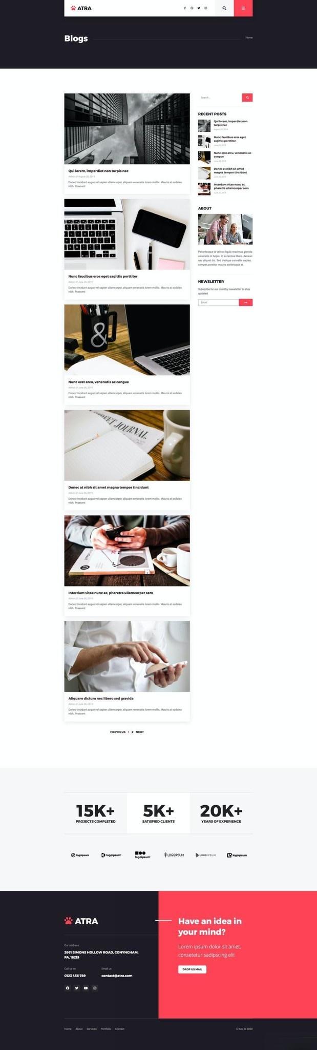 代理商企业网站WordPress主题Elementor模板插图(14)