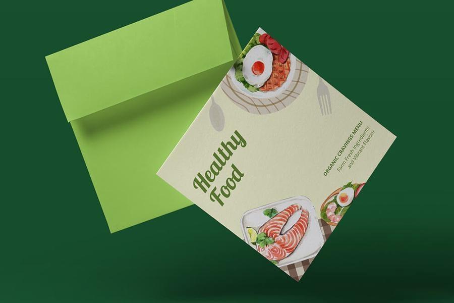 缤纷多彩的水彩手绘新鲜食物主题PNG/JPG/PSD插画素材插图(2)