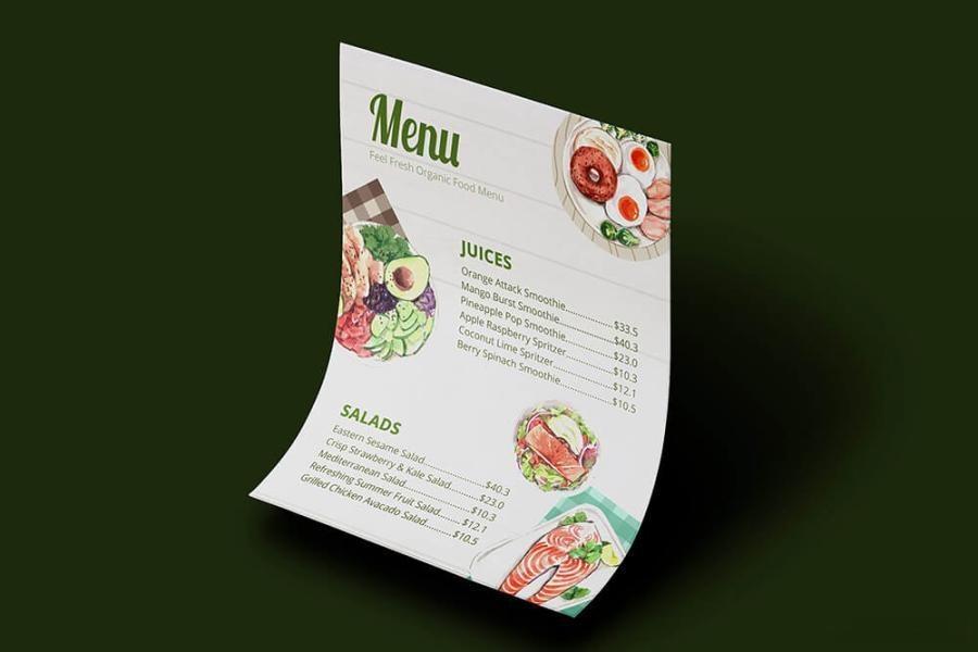 缤纷多彩的水彩手绘新鲜食物主题PNG/JPG/PSD插画素材插图(3)