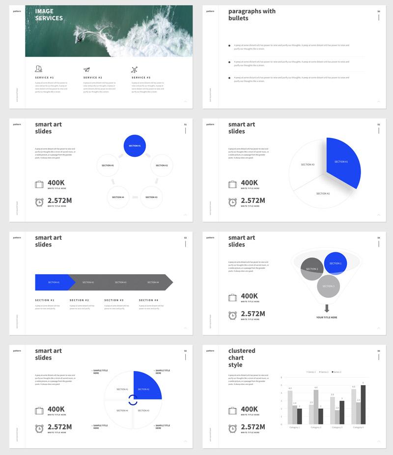 简洁独特多用途的公司项目提案Keynote和ppt模板插图(3)