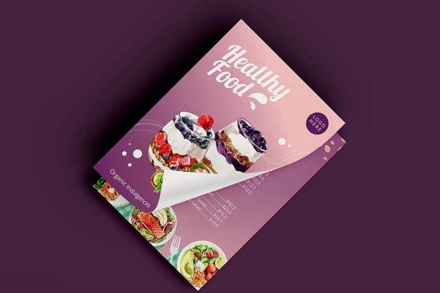 缤纷多彩的水彩手绘新鲜食物主题PNG/JPG/PSD插画素材插图(4)