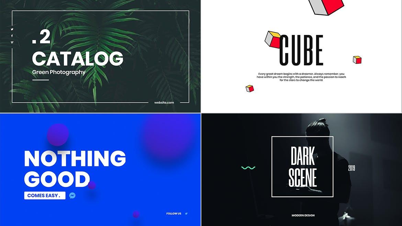 一组流行风格的多用途网页banner海报PS设计模板插图(4)