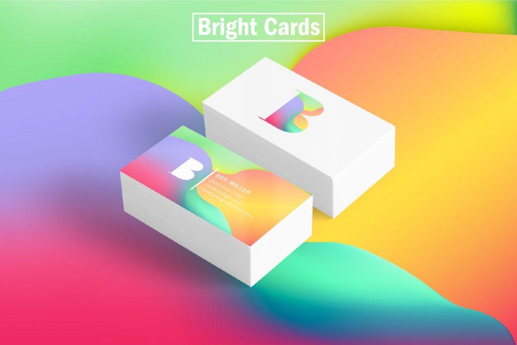 一组精美独特的渐变色平面海报AI设计模板插图(4)