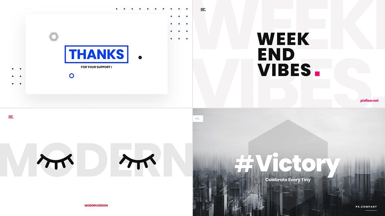 一组流行风格的多用途网页banner海报PS设计模板插图(2)