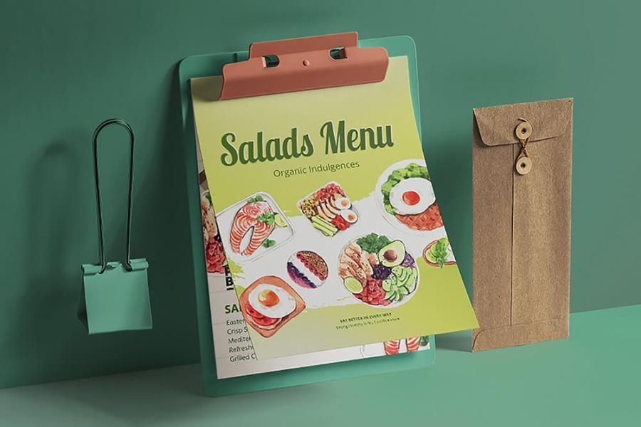 缤纷多彩的水彩手绘新鲜食物主题PNG/JPG/PSD插画素材插图(6)