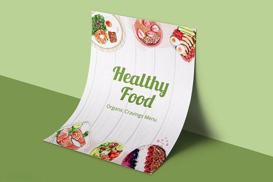 缤纷多彩的水彩手绘新鲜食物主题PNG/JPG/PSD插画素材插图(7)