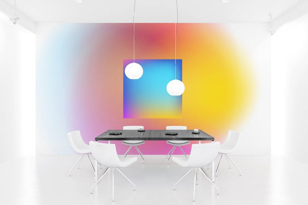 渐变色科技感海报设计模板AI设计模板插图(3)