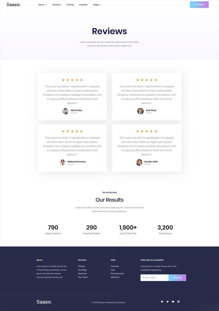 信息服务网站WordPress官网主题模板Elementor模板插图(8)