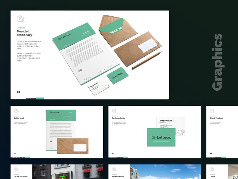 简单易用的设计师品牌设计提案ppt/sketch模板插图(4)