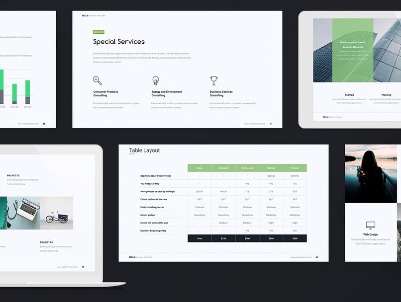 设计精美的商品产品动画展示 ppt & Keynote模板插图(3)