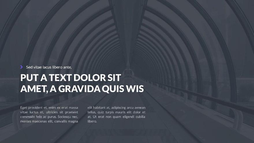 深色和浅色风格的工作汇报ppt设计模板插图(2)