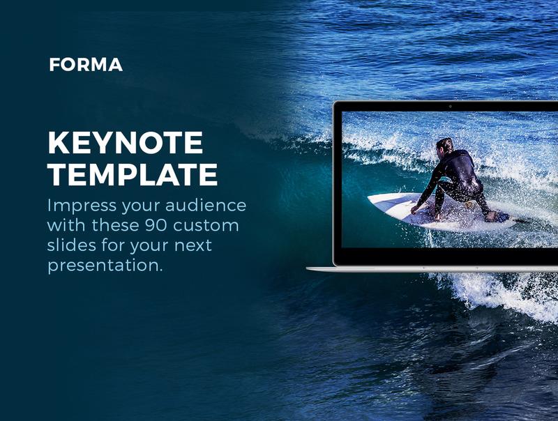 用于公司产品介绍展示的设计精美的Keynote模板