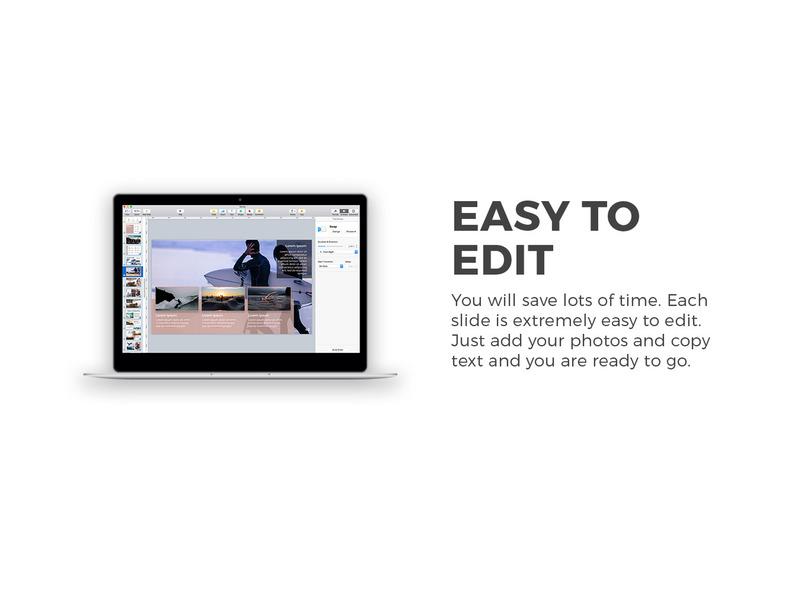 用于公司产品介绍展示的设计精美的Keynote模板插图(3)