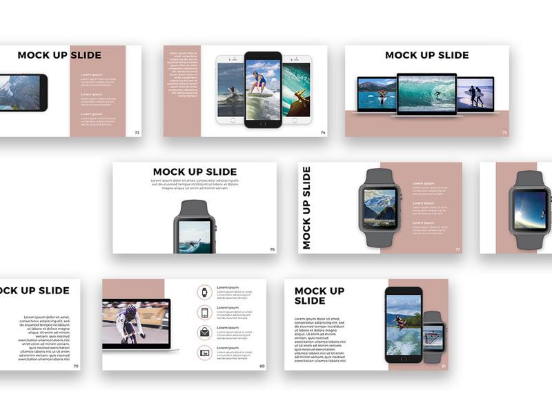 用于公司产品介绍展示的设计精美的Keynote模板插图(4)