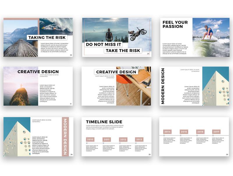 用于公司产品介绍展示的设计精美的Keynote模板插图(8)
