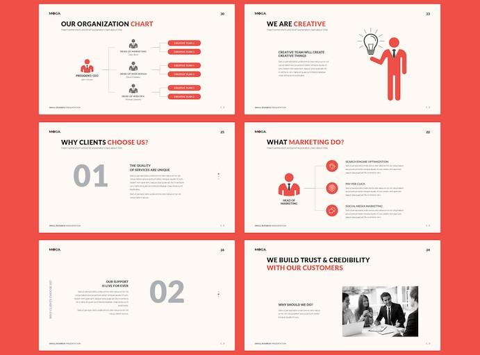 适用于小型企业的创意ppt商务模板插图(3)