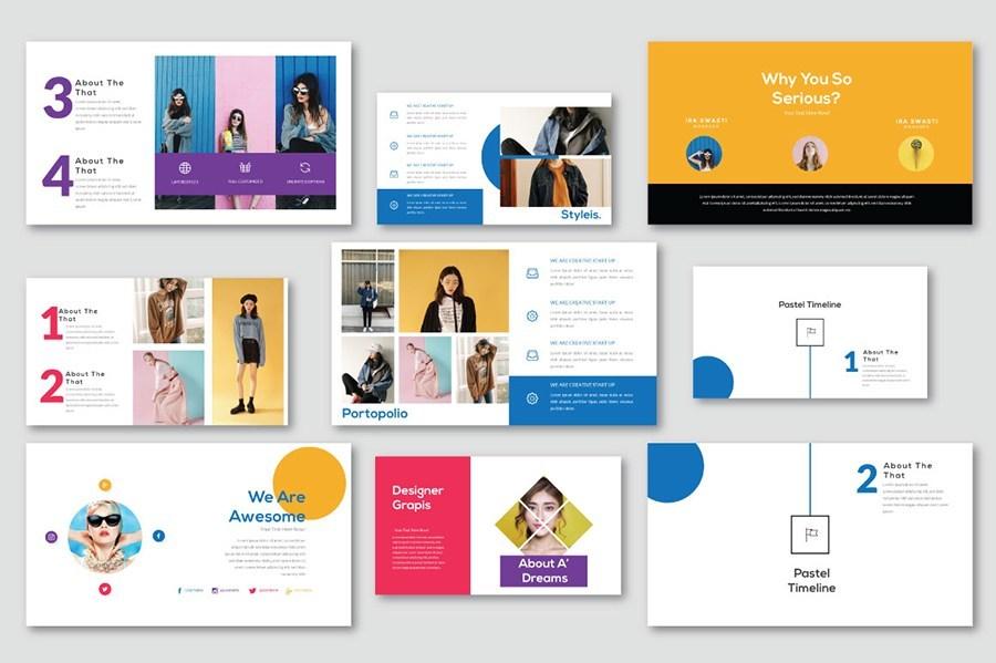 唯美专业的公司品牌推广ppt设计模板插图(3)