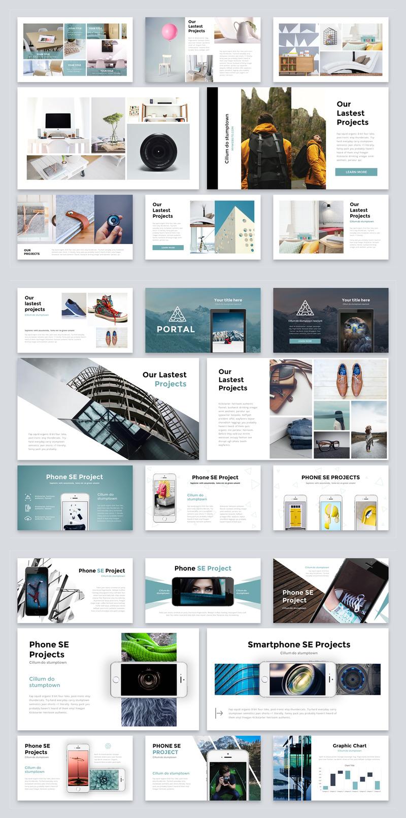 设计精美的产品提案多功能动画ppt模板插图(5)