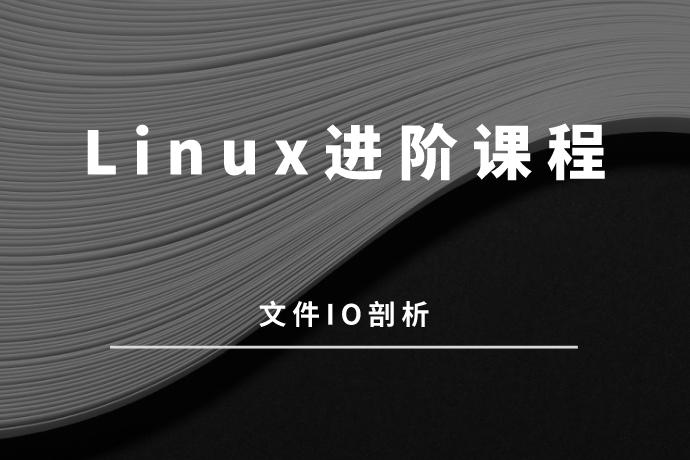 Linux进阶:文件IO剖析