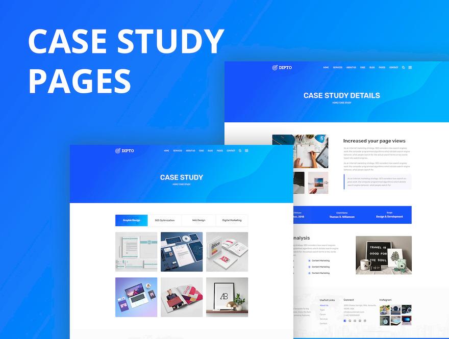 专门为企业网站设计的html模板