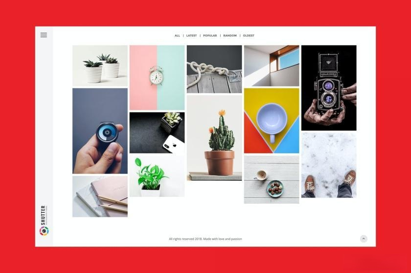 个人摄影设计作品主题模板[WordPress主题/47 MB]百度云资源下载