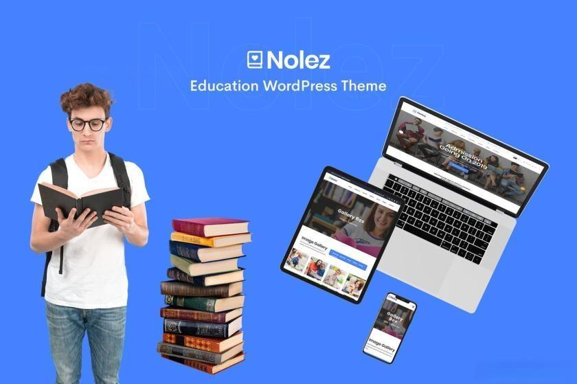 WordPress教育机构主题模板插图
