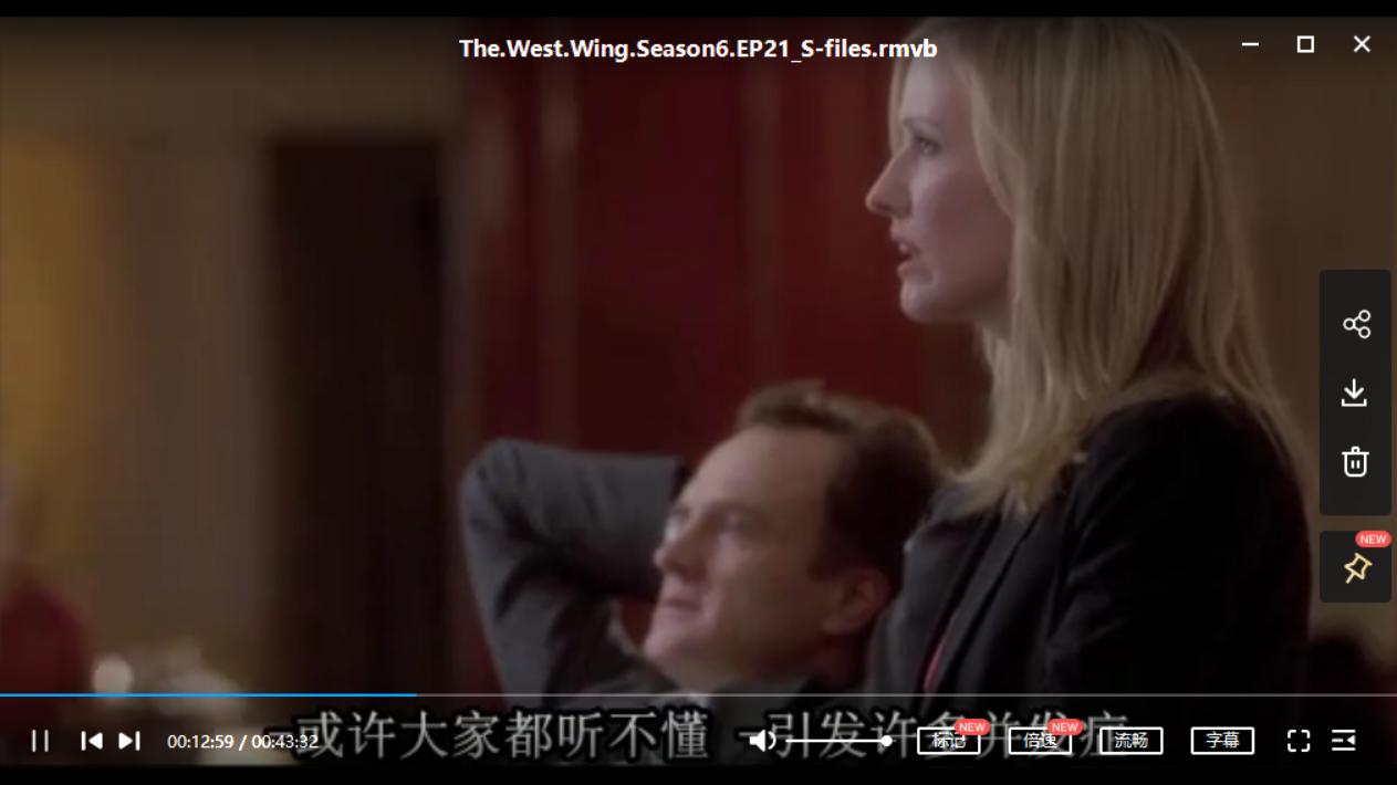 白宫风云.The West Wing.S1-7季.双语字幕.百度云资源