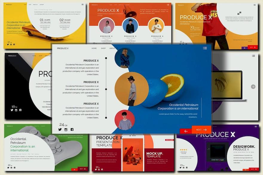 公共演示文稿PPT模板[PowerPoint/3.4M]百度云网盘下载