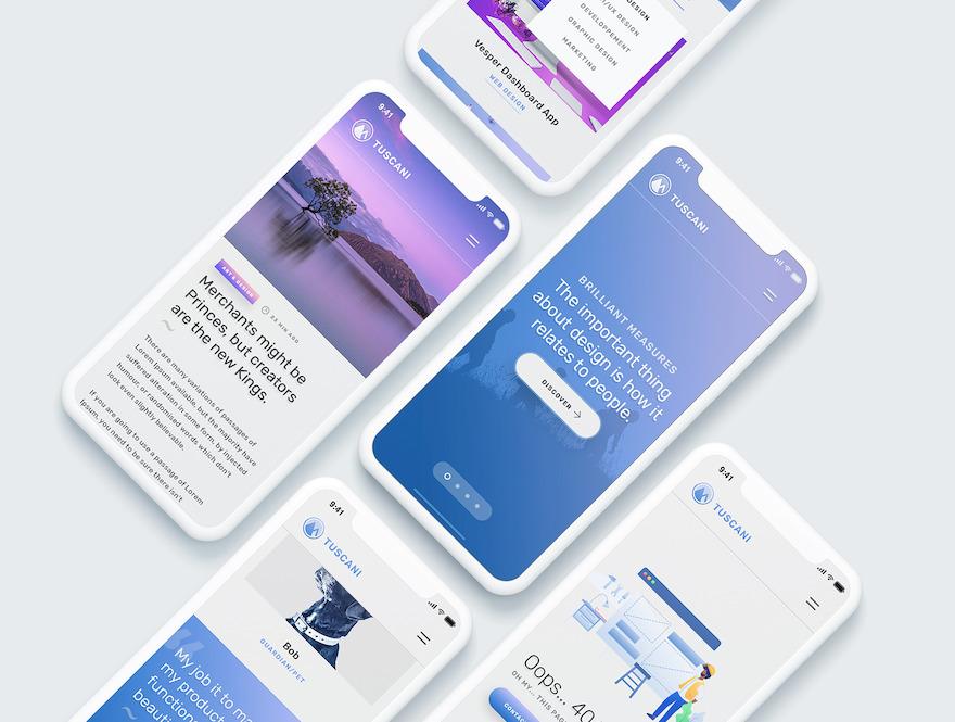 富有创意的公司企业网站html设计模板插图(2)