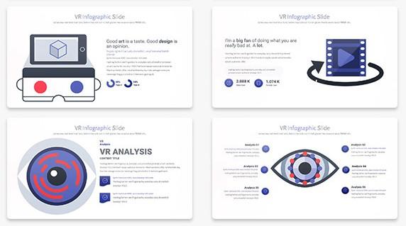VR企业项目展示ppt模板[PPT/14.5 MB]百度云网盘下载