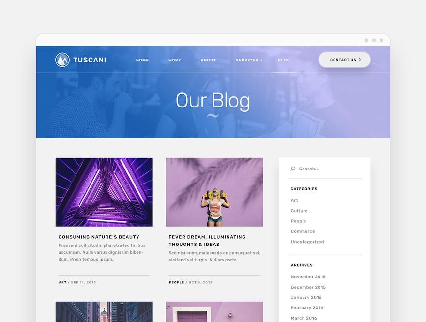 富有创意的公司企业网站html设计模板插图(6)