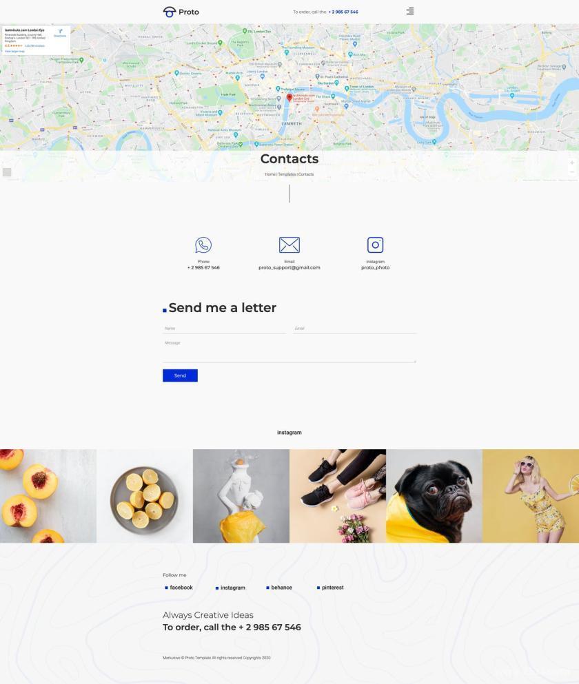 摄影师个人简历网站WordPress Elementor模板插图(8)