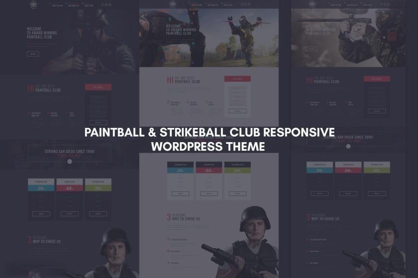 游戏俱乐部官方网站WordPress主题模板