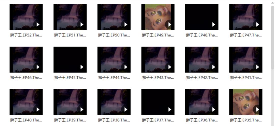 狮子王1996版[上译+辽艺配音/DVD-MKV/全52集/15.56GB]百度云资源下载