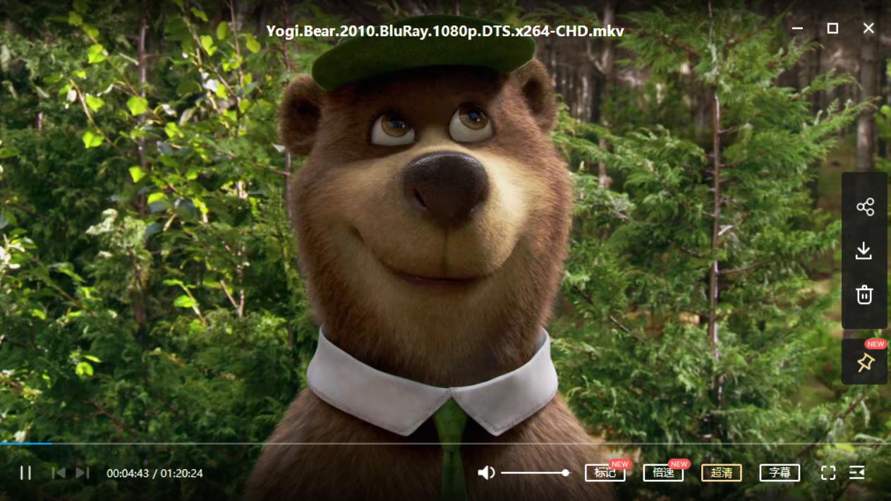 瑜伽熊 Yogi Bear (2010)[动画片/6.52 GB]百度云资源下载