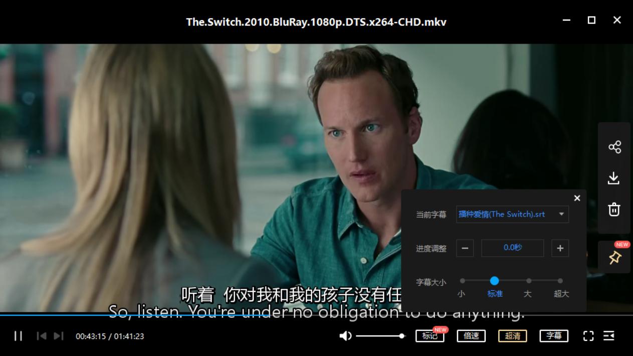 换精计划 The Switch (2010)[mkv/9.50GB]百度云资源下载