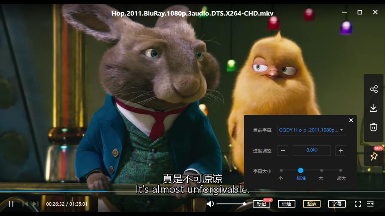 拯救小兔 Hop (2011)[mkv/10.89GB]百度云资源下载