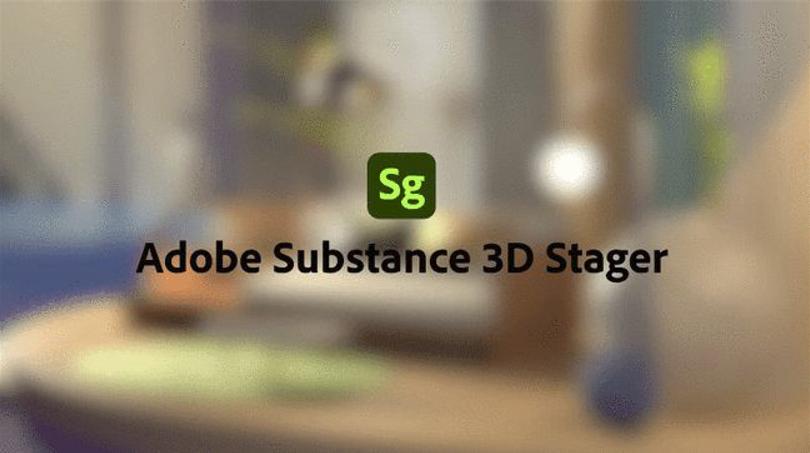 Adobe Substance 3D Stager 安装教程(Mac版)百度网盘下载