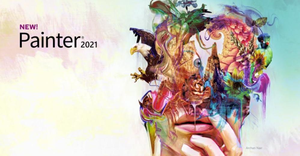 绘画神器 Corel Painter 2021 软件介绍及安装教程(Win版)百度网盘下载