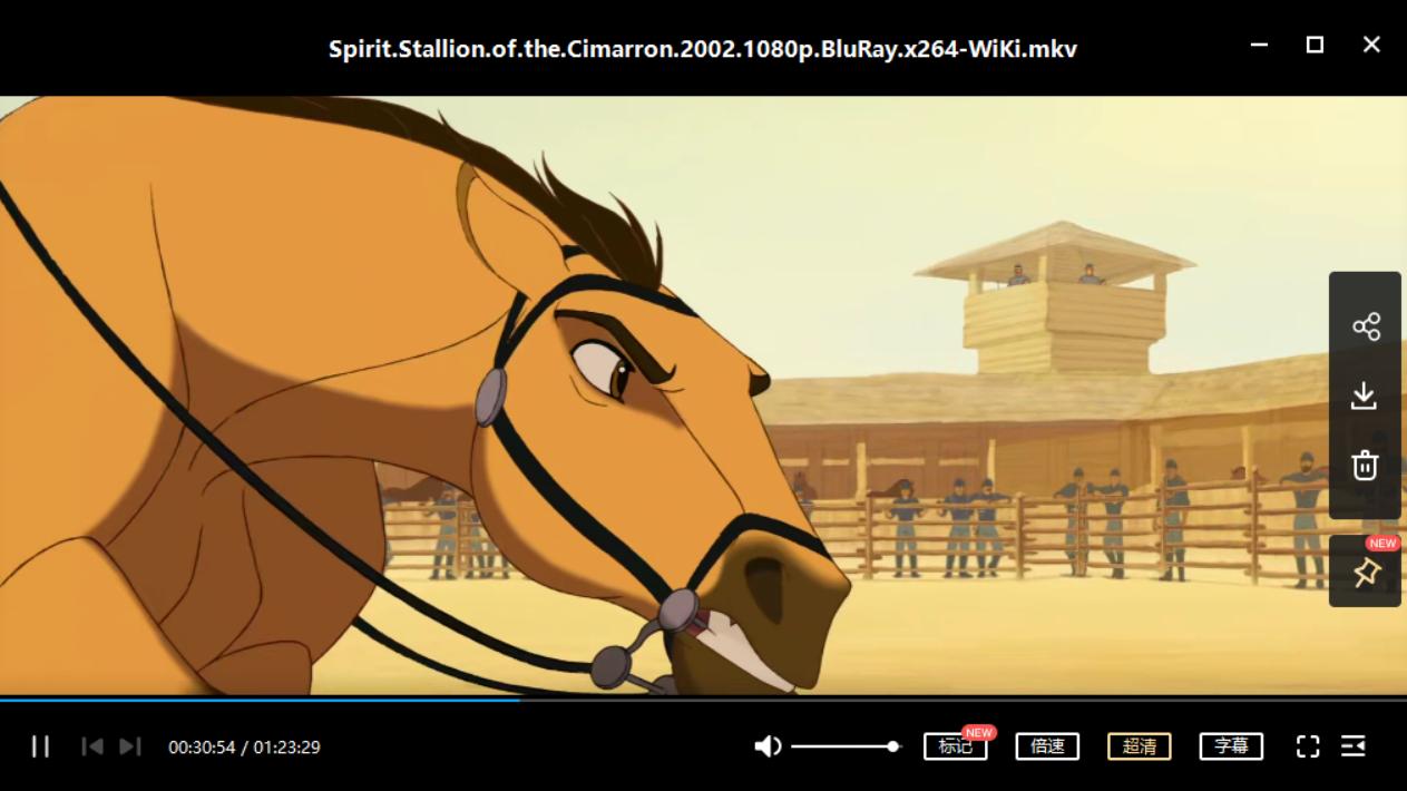 小马王 Spirit: Stallion of the Cimarron[mkv/5.18GB]百度网盘下载